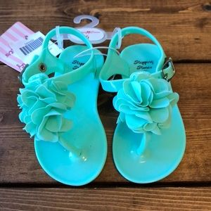 Other - Mint baby girl sandals!